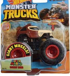 Hot Wheels - Monster Trucks Super Mario Donkey Kong