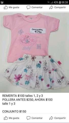 Bebes y niños oferta ropa nueva