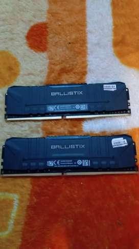 Memoria nueva DDR4   8 gbCON TOBERA, BUSS 2666