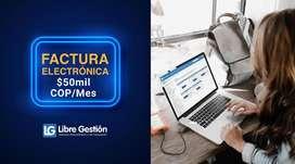 FACTURA + NOMINA ELECTRÓNICA ILIMITADA 50 MIL MENSUALES