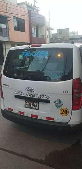 Vendo por ocasión minivan hiunday H1