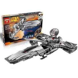 Juguete para armar tipo Lego Star Wars Harringdons Sith Infiltrator