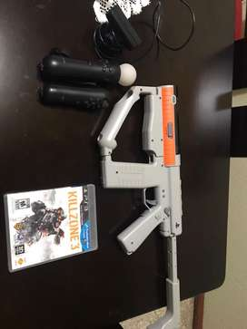 Pistola Ps3 - play station 3 kit completo