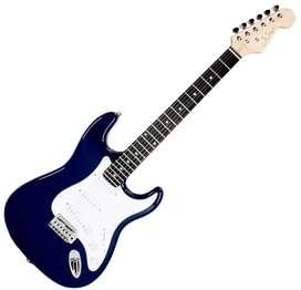 Guitarra Gsw E10 electrica Stratocaster Sss Azul Music Box