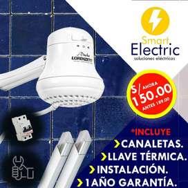 Instalacion Ducha Electrica.