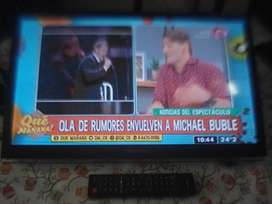 Tv Led Televisor 24 Hsense bgh C/ctrl Rem Orig Exc Imagen