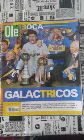 Revista Ole Boca Galactricos Año 2003 Edición Especial