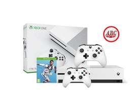 Consola Xbox One S 1Tb Fifa 19  Extra Control Original