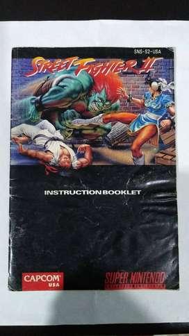 Manuales NIntendo-Super NIntendo *originales*