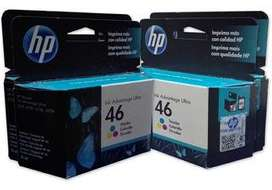 Cartuchos Hewlett Packard 46 Color