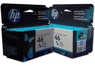 Cartuchos Hewlett Packard 46 Color 0