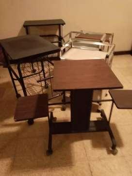 Remato muebles auxiliares de cas
