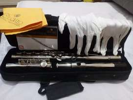 Flauta traversa sin uso