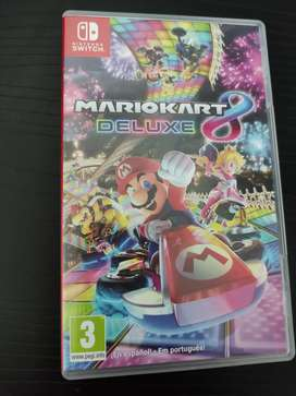 Mario Kart 8 Deluxe (Nintendo Switch) - segunda mano