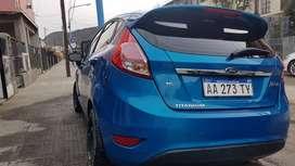Ford Fiesta KD. Titanium