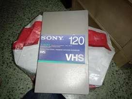 VHS Sony T-120 BA