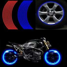 Cintas reflectantes, reflectores para moto, carro