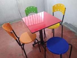 Mesa de restaurante para negocio