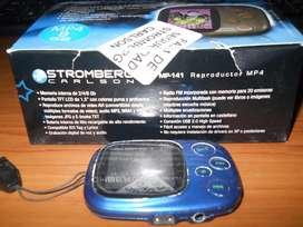 Vendo Mp4 Marca Stromberg De 8gb. Leer Descripción
