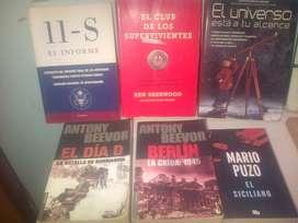 REMATE DE LIBROS 15 EDICIONES TEMATICA VARIADA EN 65.000.