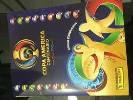 Vendo album original Copa América 2016. Precio $120.000