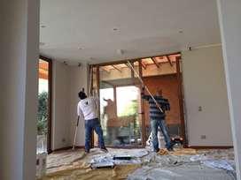 Pintor interiores y exteriores