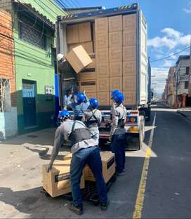 SERVICIO DE CUADRILLAS para descargue de mercancías COTEROS con seguridad social, AUXILIARES DE BODEGA EN BOGOTÁ