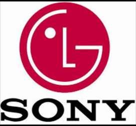 Reparaciones de televisores lcd Led oled QLed curvo 4k plasma a domicilio servicio técnico TV Sony LG Samsung Panasonic