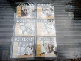 colección incompleta cd folklore