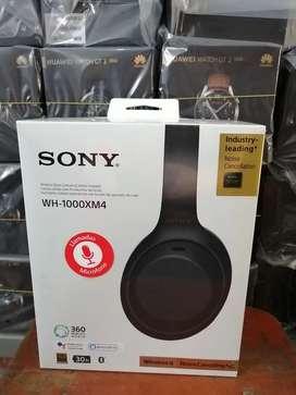 Audífono Sony WH-1000XM4 Bluetooth Cancelación de Ruido 30 Horas