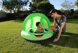 Pileta rana verde nueva