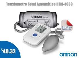 TENSIOMETRO-MONITOR DE BRAZO PRESIÓN ARTERIAL SEMIAUTOMÁTICO OMRON HEM-4030
