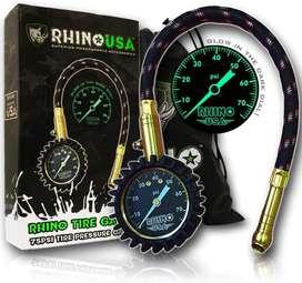 Rhino Usa Medidor de Presión(0 - 75 Psi)