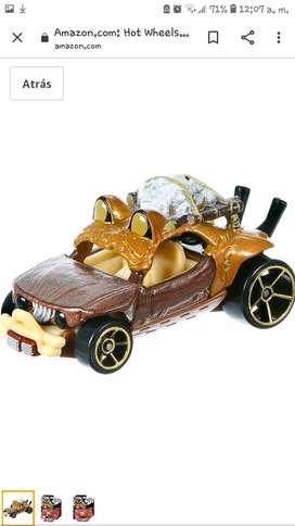 Liquidacion: Autito: Hot Wheels Star Wars Character Cars Wicket