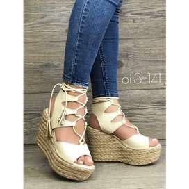 Hermosas sandalias para Dama