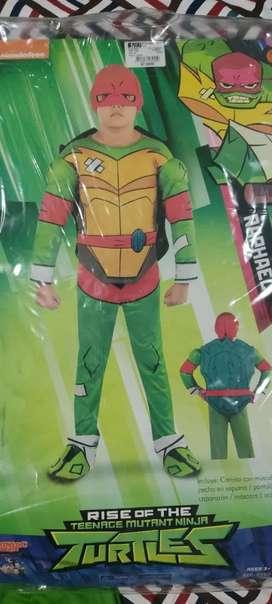 Disfraz tortuga ninja talla 6