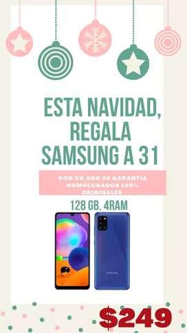 Samsung A 31  1 AÑO DE GARANTÍA