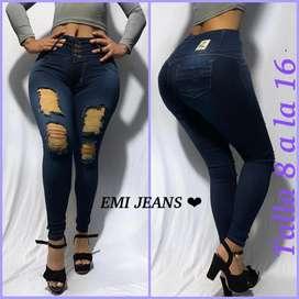 Hermosos jeans de dama