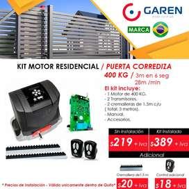 Motores Eléctricos, Portones Automáticos Corredizos Abatibles Residenciales Industriales Apertura con Celular UTP Quito