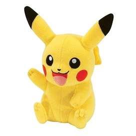 Peluche Pikachu Pokemón 35cm Alto Juguete Regalo