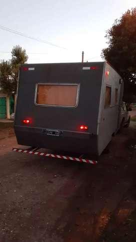 Casa rodante equipada