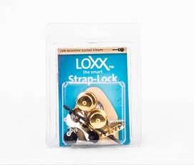 Loxx StrapLock Guitarra Acustica ACGold
