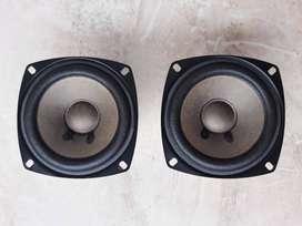 Parlante Medio Kenwood KS 200HT + 8 ohmios + 110 watts + 4 pulgadas + 2 unidades