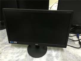 TV monitor LED de 19 y lcd de 20 formato wide completo