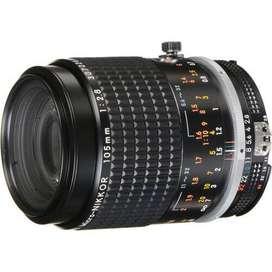Lente Nikon 105 MM 2.8 1455