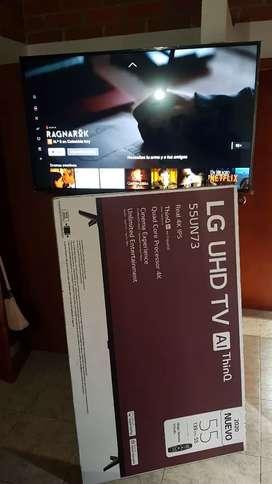 TV LG    UHD 55UN73 4K  Como nuevo