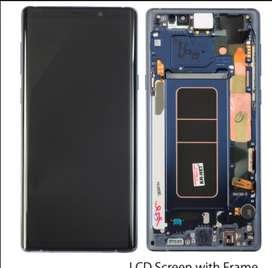 Pantalla Samsung note 9 original instalado en tienda