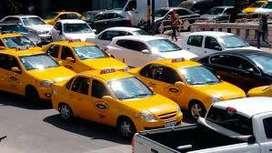 Alquilo chapa de taxi