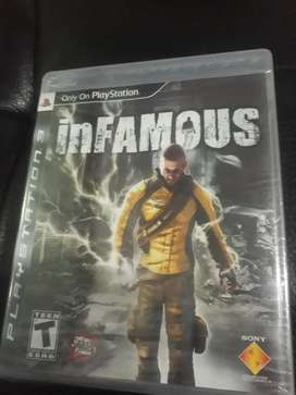 Juego Play Station 3 Infamous Original