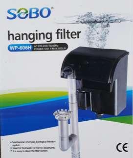 Filtro Mochila Sobo WP-606H Acuario 60-100 Litros